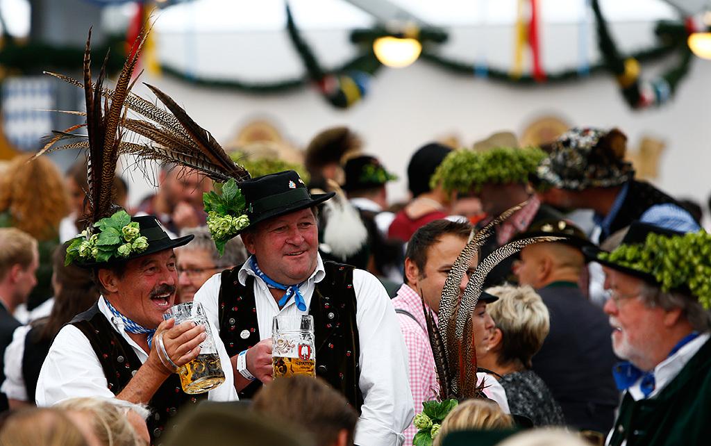 Октоберфест - главный пивной фестиваль Германии